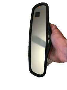 1995 99 Suburban Tahoe Yukon Rear View Mirror Auto dim With Temperature Compass