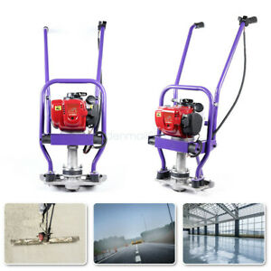 Gas Concrete Wet Screed 4 stroke Power Screed Cement Pavement Leveling Tool Gx35