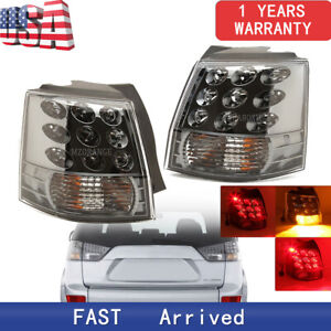 Pair Rear Tail Lamp Light For Mitsubishi Outlander Ex 2007 08 09 10 11 12 2013