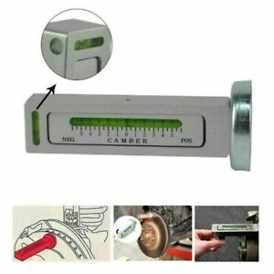 Adjustable Magnetic Gauge Tool Camber Castor Strut Wheel Alignment Truck Car New