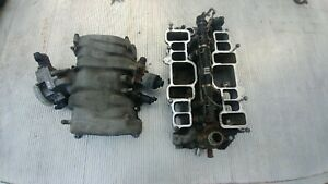 454 7 4 Liter Complete Upper And Lower Intake Manifold For 96 00 Chevy