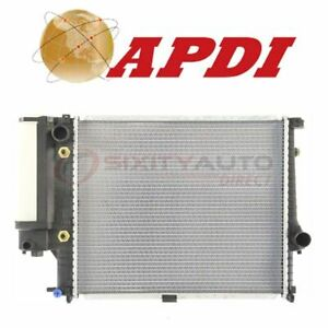 Apdi Radiator For 1989 1995 Bmw 525i Cooler Cooling Antifreeze Coolant Op