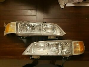1994 1997 Honda Accord Front Headlight Set Assembly Replacement left And Right