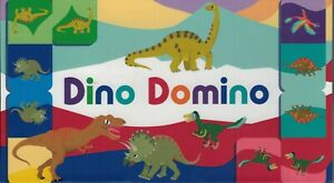 Dino Domino Magma for Laurence King Domino Game Match Prehistoric Creatures $8.75