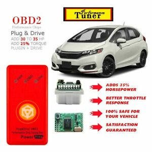 For 2006 2020 Honda Fit Performance Tuning Chip Power Tuner Programmer