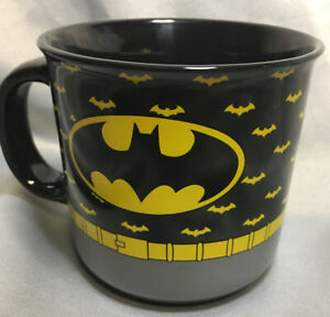 NEW Batman Coffee Mug DC Comics  Classic Batman Logo 20 oz  Ceramic Cup