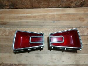 1966 Dodge Coronet Taillights Used Oe Pair