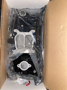 New Edelbrock Intake Manifold Small Block Chevy Powdered Coated Black