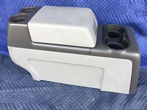04 05 06 07 08 Ford F150 F 150 Truck Center Console Storage Cup Holder Gray