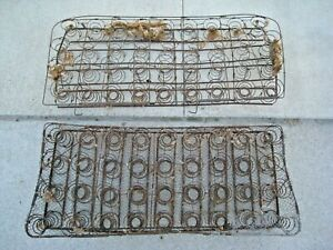 Original 1928 31 Ford Model A Bench Seat Springs Cushion Back Coupe Sedan Oem