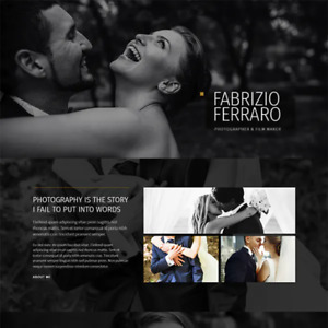 Elementor Template Photography And Portfolio Template