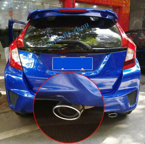 For Honda Fit Jazz 2014 2020 Stainless Steel Rear Exhaust Muffler Tip End Pipe
