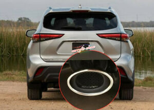 Fit For 2020 Toyota Highlander Stainless Steel Rear Exhaust Muffler Tip End Pipe