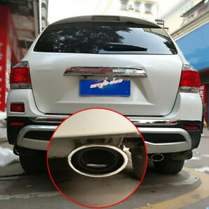 Fit For Toyota Highlander 2009 2014 Stainless Rear Exhaust Muffler Tip End Pipe