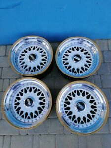 Bbs Rs 042 4x100 R15 8 5 And 9j Stance Golf Mk1 Scirocco Golf Cabrio 165 45 15