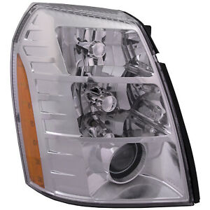 Headlight Right Passenger Fits 2009 2014 Cadillac Escalade Hid 09 2nd Design
