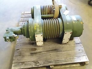 Dp Manufacturing 35 000lb Double Drum Hydraulic Winch 35tr 53356