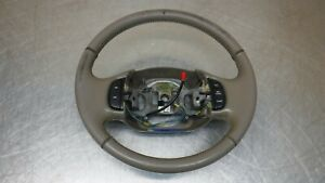 Ford Excursion F250 F350 Superduty Brown Tan Leather Steering Wheel F 250