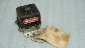 Autolite 6 Volts 1930 s Packard Studebaker Lincoln Voltage Regulator Tc 4302 a