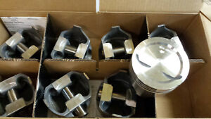 L2382f Forged Pistons 350 Chevy 2 Relief With Recess Set Of 8