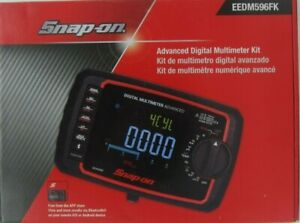 Snap On Eedm596fk Advanced Digital Bluetooth Multimeter Tach Temp W Probes