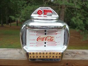Gibson Figural Chrome and Red Ceramic Coca-Cola Jukebox 10