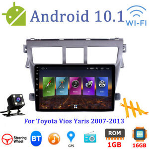 Android Car Gps Multimedia Am fm Radio Navi Player For Toyota Vios Yaris 2007 13