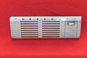 Vintage 1947 1953 Chevy Pickup Truck Speaker Grille Ashtray Assembly Dash Trim