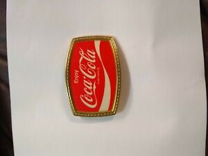 Coca Cola Vintage Belt Buckle
