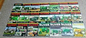 21 ISSUES OLIVER HART PARR TRACTOR MAGAZINES 2013-2019 SUPER 77 1650 1755 1850