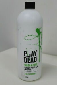 New Play Dead Car Care Car Wash And Wax 1litre Mind Blowing Car Shine