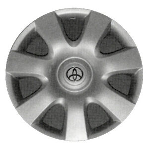 61115 Refinished Toyota Camry 2002 2004 15 Inch Hubcap Wheel Cover