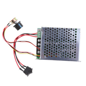 Pwm 10 50v Dc Motor Control Controller Cw Ccw Reversible Pulse Driver 40a W led