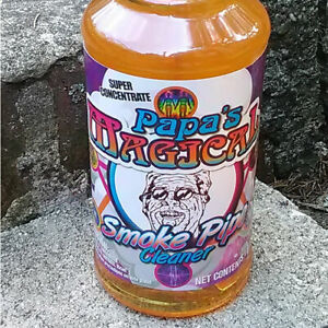 Papa s Magical Smoke Pipe Cleaner Degreaser Super Concentrate 1qt