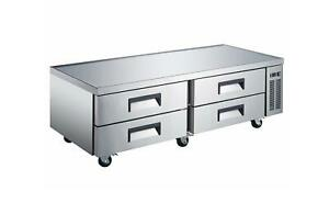 Falcon Food Service Acfb 72 72 Four Drawer Refrigerated Chef Base