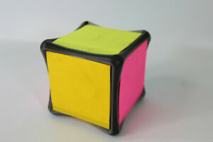 Post it Super Sticky Full Stick Notes Holder Cube 2x Sticking Power Refillable
