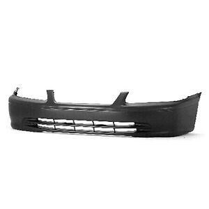 To1000206 New Replacement Front Bumper Cover Fits 2000 2001 Toyota Camry