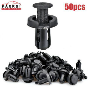 500pcs Mixed Auto Car Fastener Clip Bumper Fender Trim Plastic Rivet Door Panel