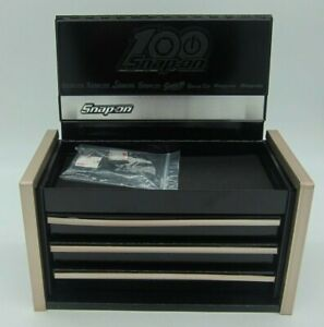 Snap On Black Mini Micro Top Chest Tool Box 100 Year Rare Brand New Ships Free