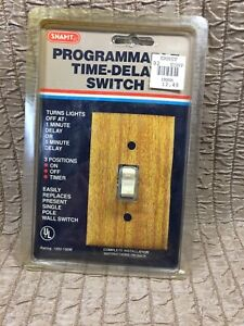 Snapit Programmable Time Delay Switch Nos Vtg