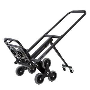 Practical Stair Climbing Folding Cart Climb Moving Up To 330lb Hand Truck Dolly