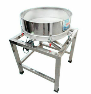 Stainless Steel Electric Vibrating Sieve Machine For Powder Particles Us