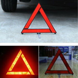 Warning Vehicle Sign Reflective Triangle Car Slow Moving Safety Golf Cart