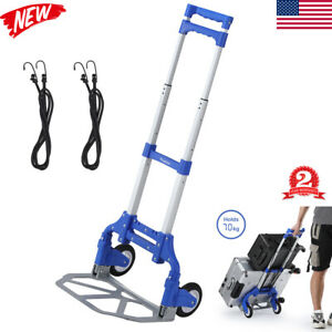 154lb Industrial Moving Appliance Dolly Hand Truck Cart Heavy Duty Stair Climber