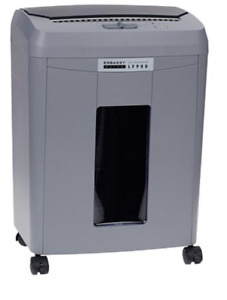 New Embassy Elite Auto Feed Microcut Paper Shredder 9 Sheet Gray