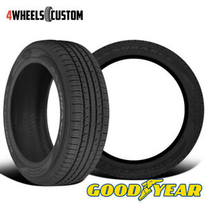 2 X New Goodyear Assurance Comfortred Touring 225 45r17 91v All season Tire