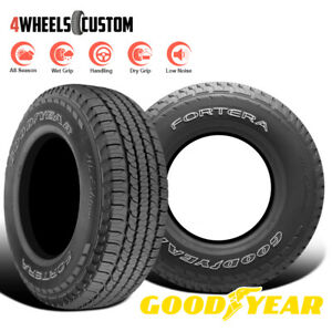 2 X New Goodyear Fortera Hl 245 65r17 105t Tire