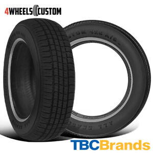 2 X New Tbc Brand Custom 428 A S 215 75r15 100s 440 Aa Tire