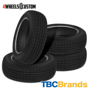 4 X New Tbc Brand Custom 428 A S 215 75r15 100s 440 Aa Tire