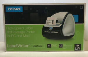 Dymo Label Writer 450 Turbo Thermal Label Printer Shipping Mailing Up To 71 Ppm